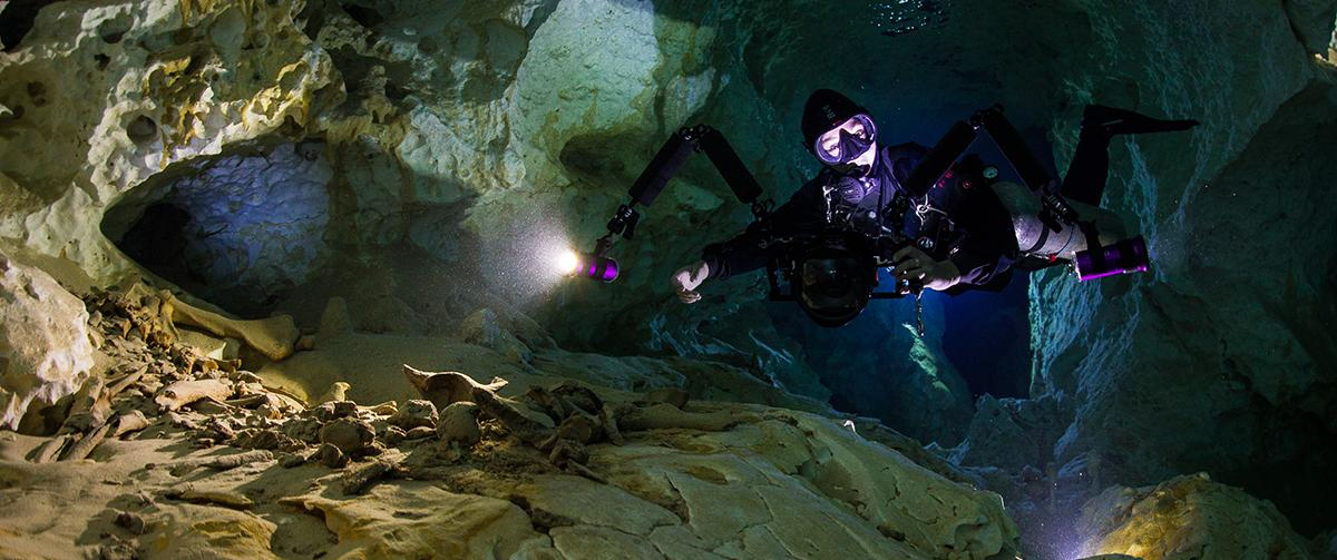 Cave diving Mexico ProTec Dive Centers